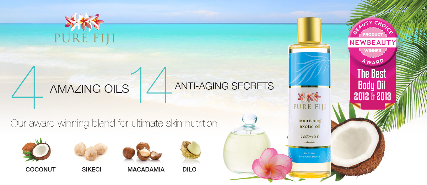 4 Amazing Oils, 14 Anti-Aging Secrets